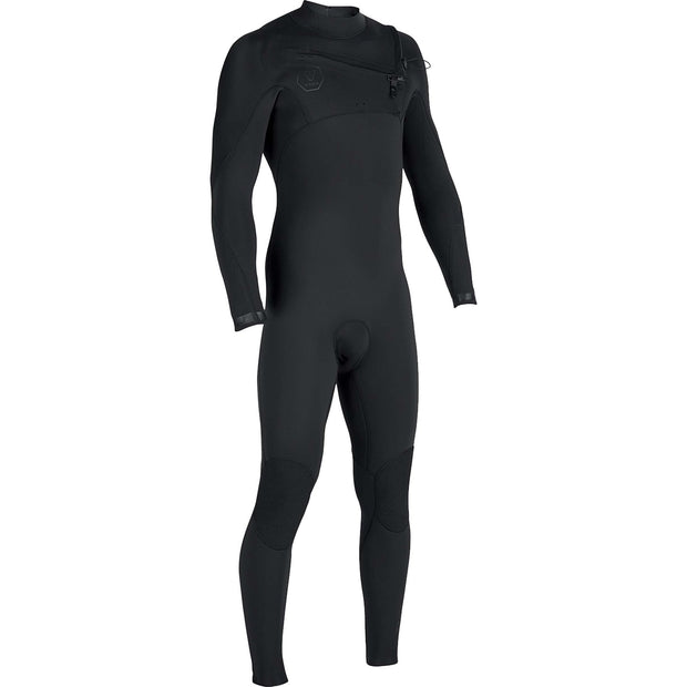 Surf Shop, Surf Hardware, Vissla, 7 Seas 3/2 Full Suit Chest Zip, Wetsuit, Stealth