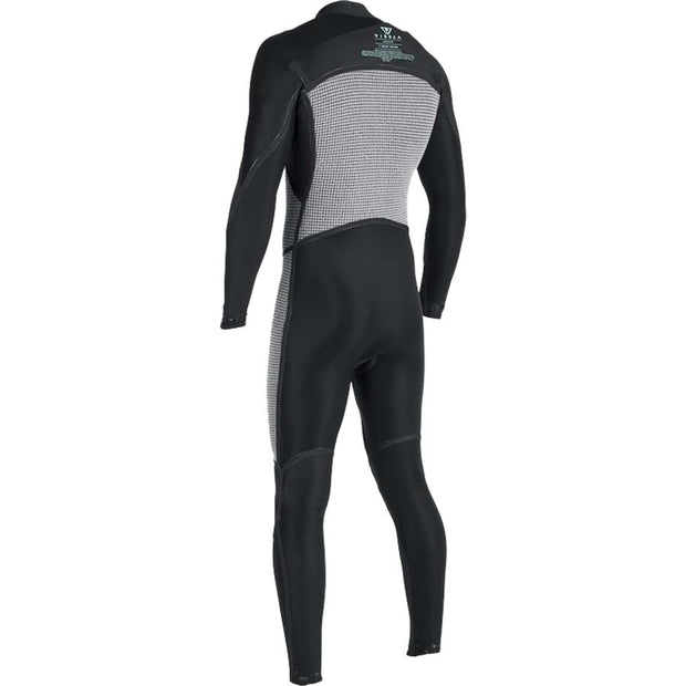 Surf Shop, Surf Hardware, Vissla, 7 Seas 4/3 Full 50/50 Chest Zip, Wetsuit, Grey