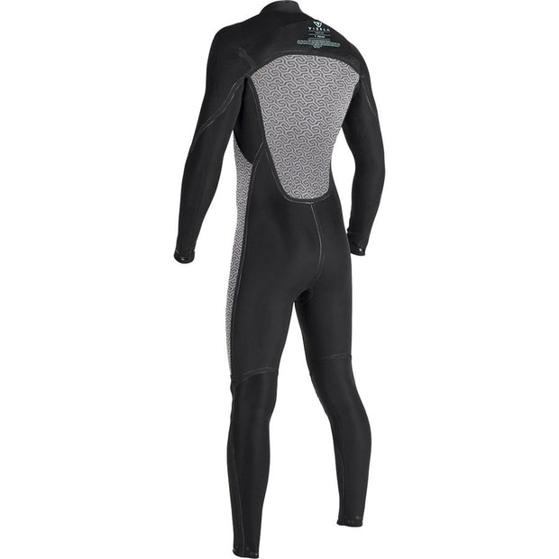 Surf Shop, Surf Hardware, Vissla, 7 Seas 4/3 Full Suit Chest Zip, Wetsuit, Midnight