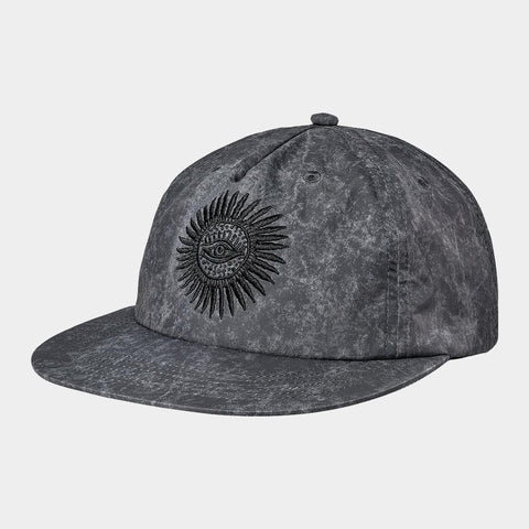 Pantheon Low Rise Cap | Washed Black