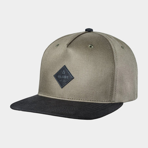 Gladstone Snap Back Cap | Light Ivy