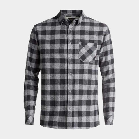 Motherfly Flannel Long Sleeve Shirt | Tarmac Motherfly