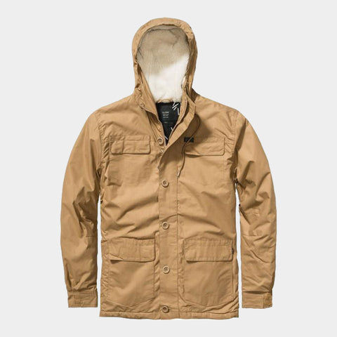 Goodstock Thermal Parka Jacket | Taupe