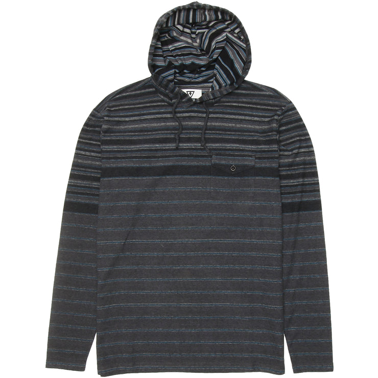 Surf Shop, Surf Clothing, Vissla, Rover, Hoodies, Black Heather