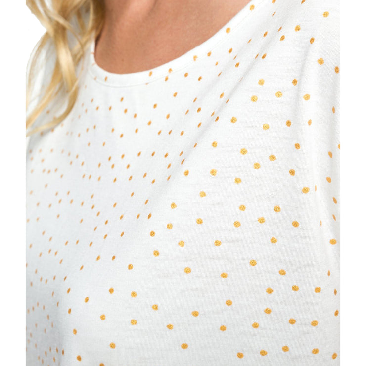 Surf Shop, Surf Clothing, Roxy, My Own Sun A, Tshirt, Marshmallow Dots For Gold