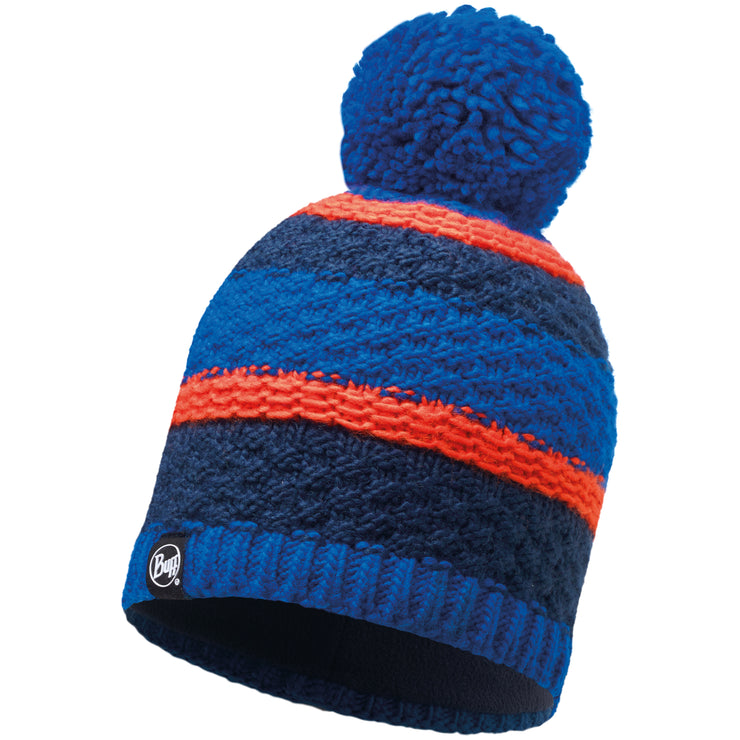 Surf Shop, Surf Clothing, Buff, Fizz Skydiver Knitted And Polar Hat, Hats, Blue