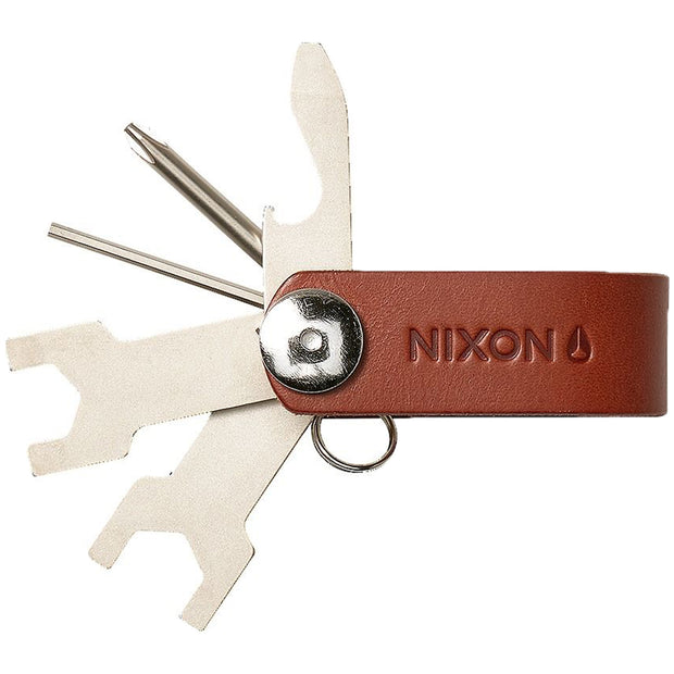Surf Shop, Surf Clothing, Nixon, Terrain Keychain, Surf Accessories, Brown