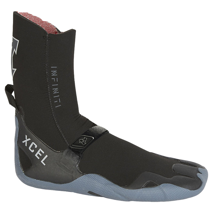 7mm Round Toe Infiniti Boot | Black