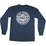 Surf Shop, Surf Clothing, Sex Wax, Pinstripe Long Sleeve, Tshirt, Navy