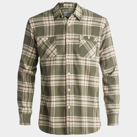 Waterman Moon Tides Flannel Long Sleeve Shirt | Beetle Moon Tides