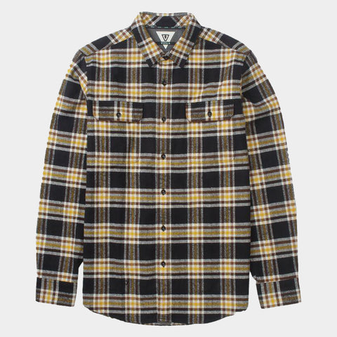 The Bluff Plaid Shirt | Black