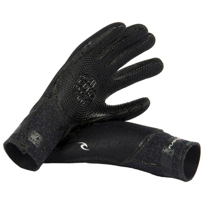Flashbomb 3/2 5 Finger Gloves | Black