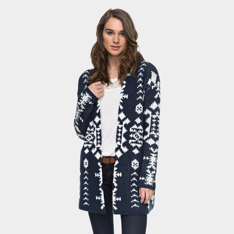 Karid 3 Cardigan | Dress Blues Sound System Jacqua