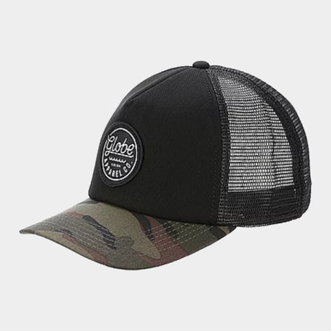 Expedition Trucker Snap Back Cap | Dusty Olive Camo