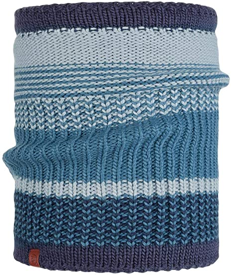 Borae Knitted and Polar Neckwarmer | Blue