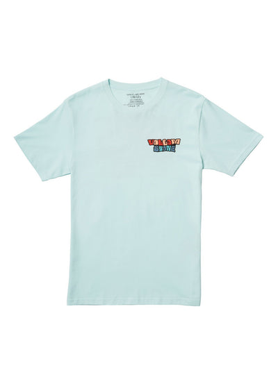 Day Waves BSC Short Sleeve - Resin Blue