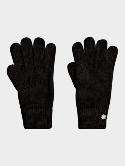 Love Today Knitted Gloves - Black