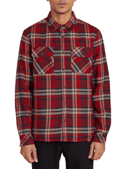 Belgrade L/S Shirt Jacket - Red