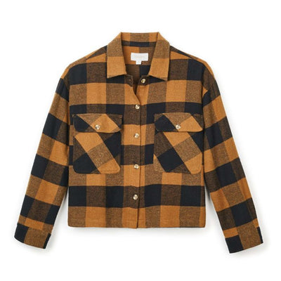 Astoria LS Flannel | Washed Copper