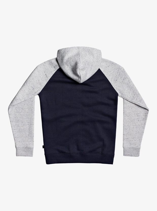 Easy Day - Zip-Up Hoodie for Boys - Light Grey Heather