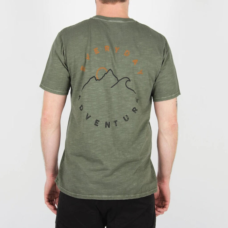 Lowsun T Shirt | Grape Leaf Green