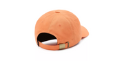 Curved Bill Jockey Hat - Fusion Coral