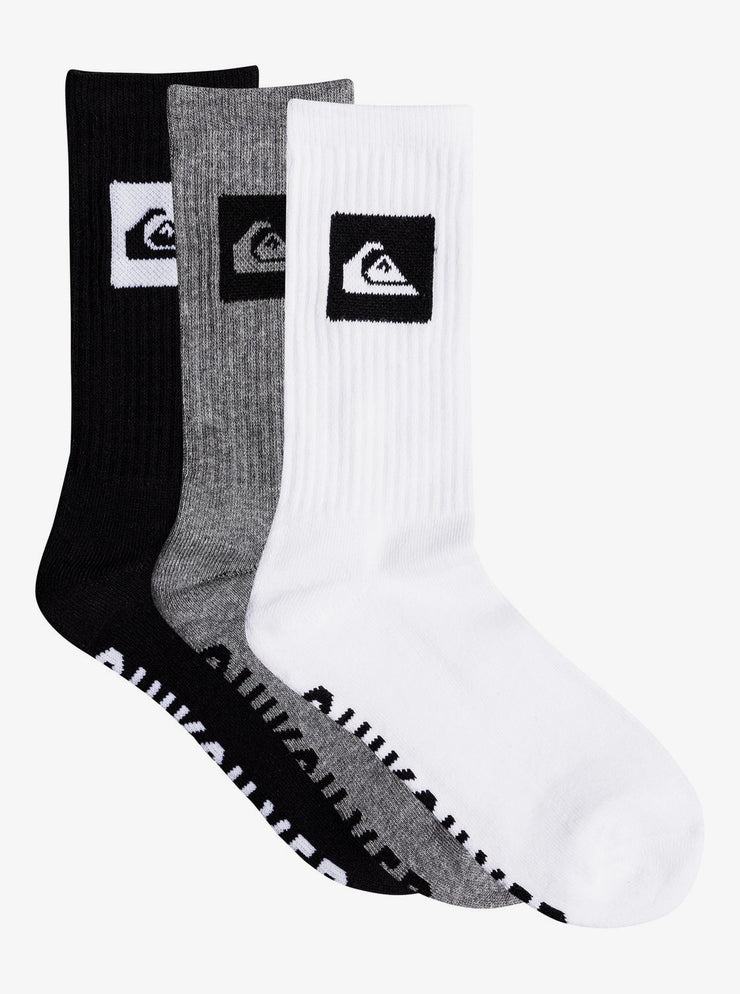 3 Pack Crew Socks for Boys | Assorted