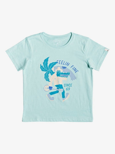 Lator Gator T shirt for Boys | Pastel Turquoise