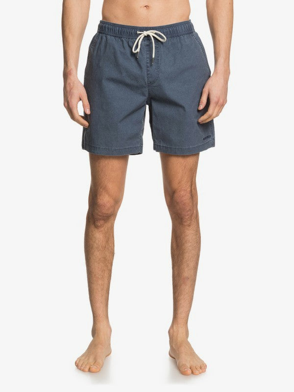 "Taxer 17"" - Elasticated Shorts for Men - Blue Nights"