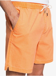 "Taxer 17"" - Elasticated Shorts for Men - Nectarine"