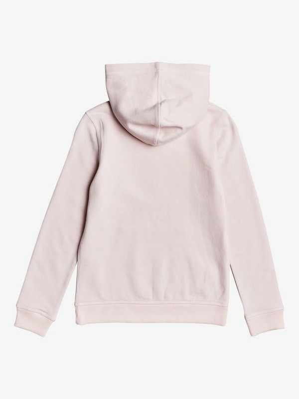 Calm Vibes B Hoodie for Girls | Pink Dogwood