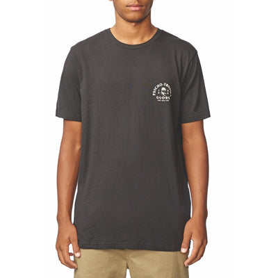 Arch Tee - Washed Black