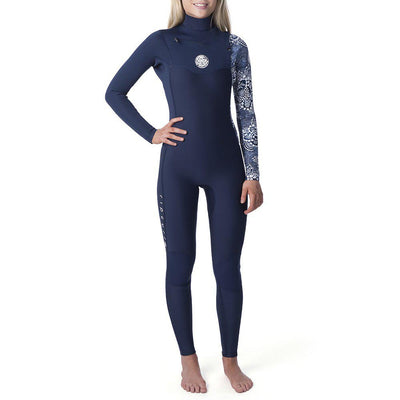 Womens Dawn Patrol 5/3 Chest Zip | Dark Blue