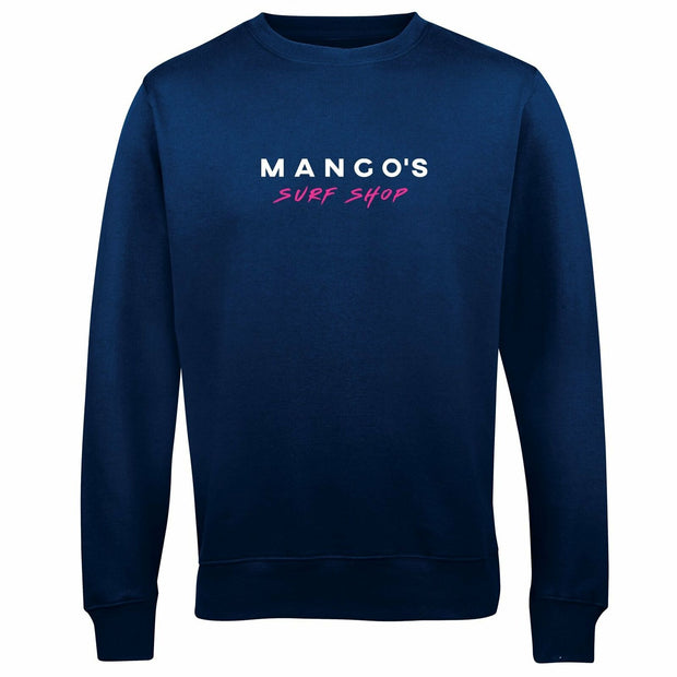 Navy Mango Surfing Crew Jumper