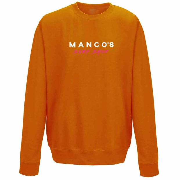 Orange Mango Surfing Jumper Crew