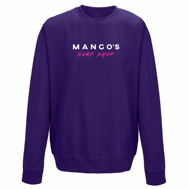 Purple Mango Surfing Jumper Crew