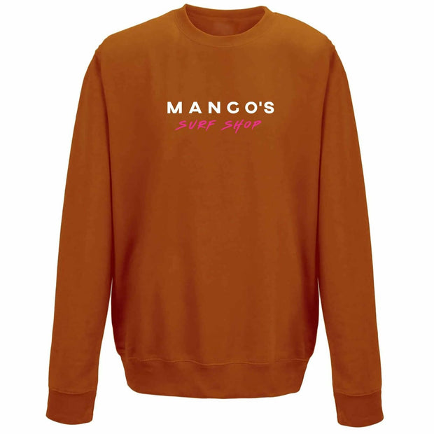 Orange Mango Surfing Crew Jumper