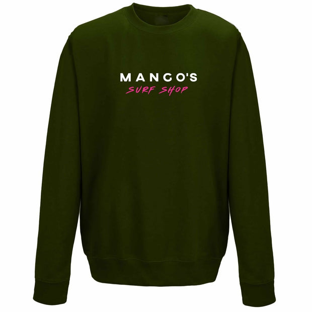 Dark Mango Surfing Crew Jumper