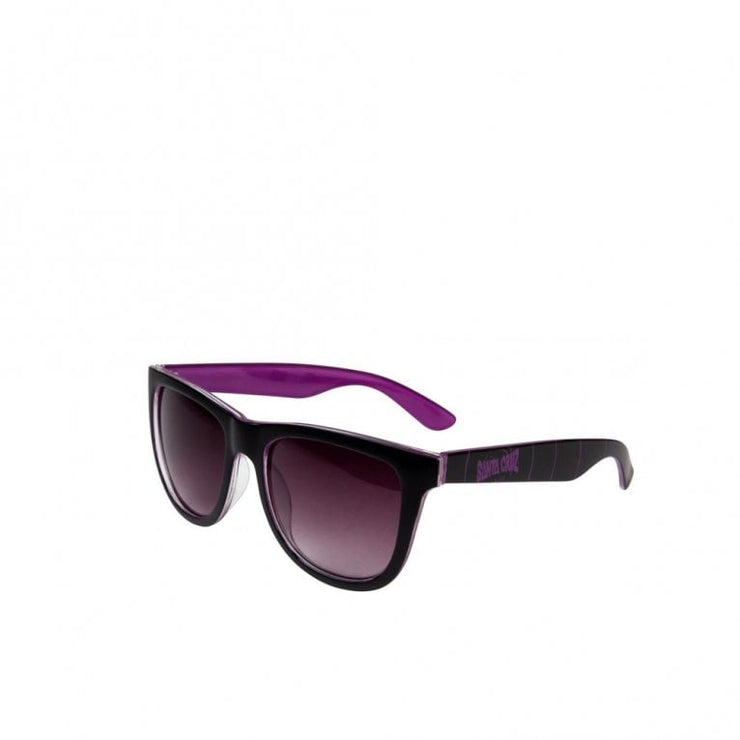 Santa Cruz Sunglasses Ripple Sunglasses Black O/S ADULT