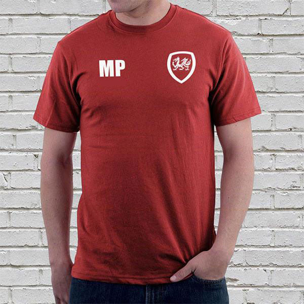 Wales Football Supporters Mens Tees