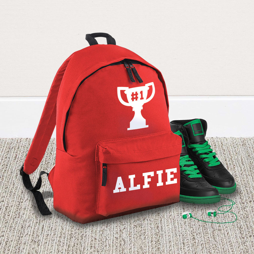 Children's Trophy Name Backpack - Instajunction