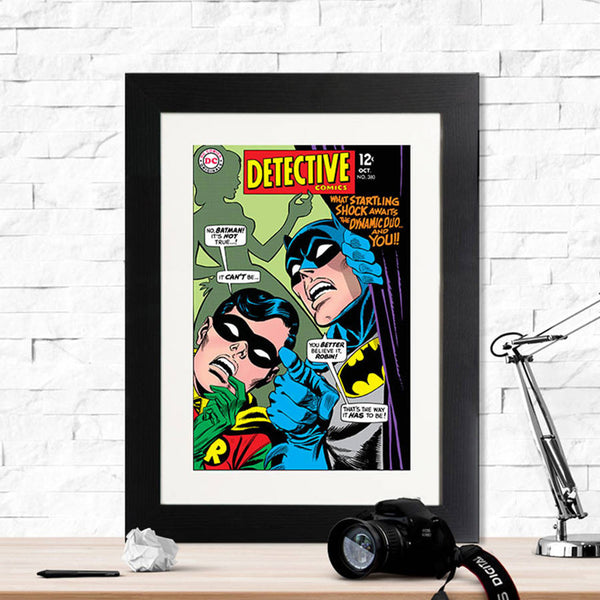 Batman Dynamic Duo Retro Print - Instajunction