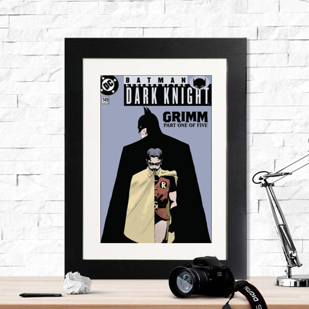 Batman Legends Of The Dark Knight Framed Print - Instajunction