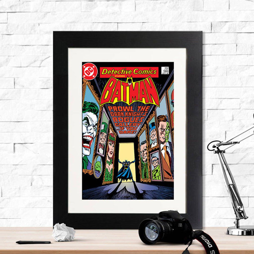 Batman Prowl The Dark Knight Retro Print - Instajunction
