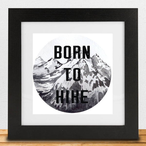 Born To… Framed Print - Instajunction