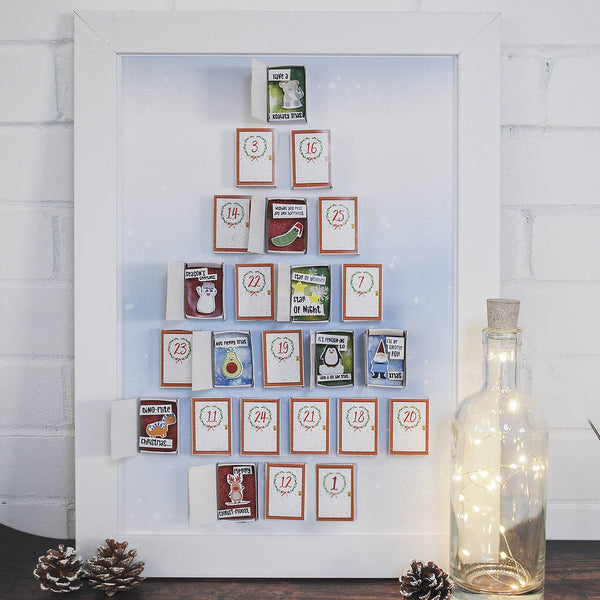 Christmas Matchbox Advent Calendar - Instajunction