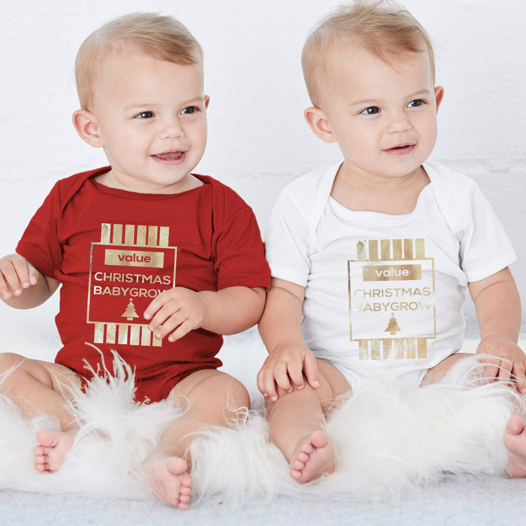 Christmas Value Babygrow - Instajunction