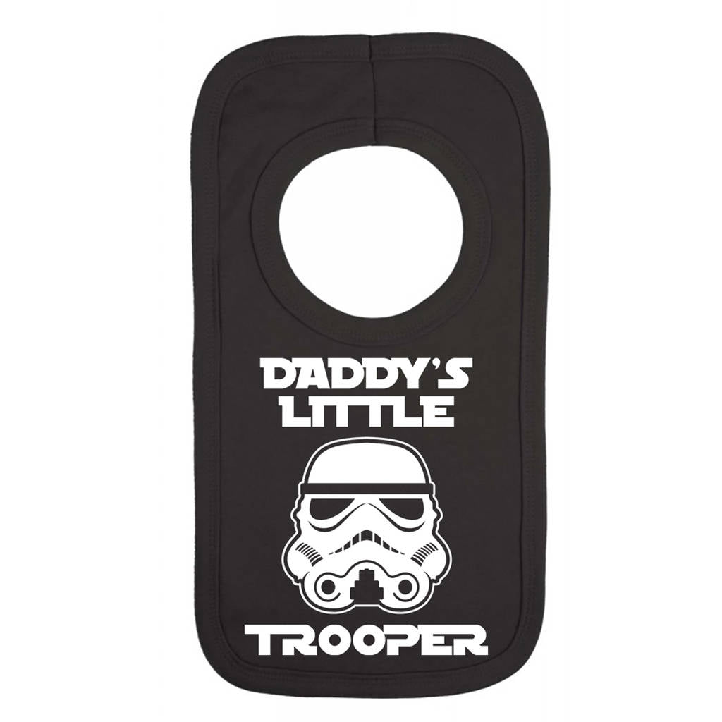 Daddy's Little Trooper Bib - Instajunction