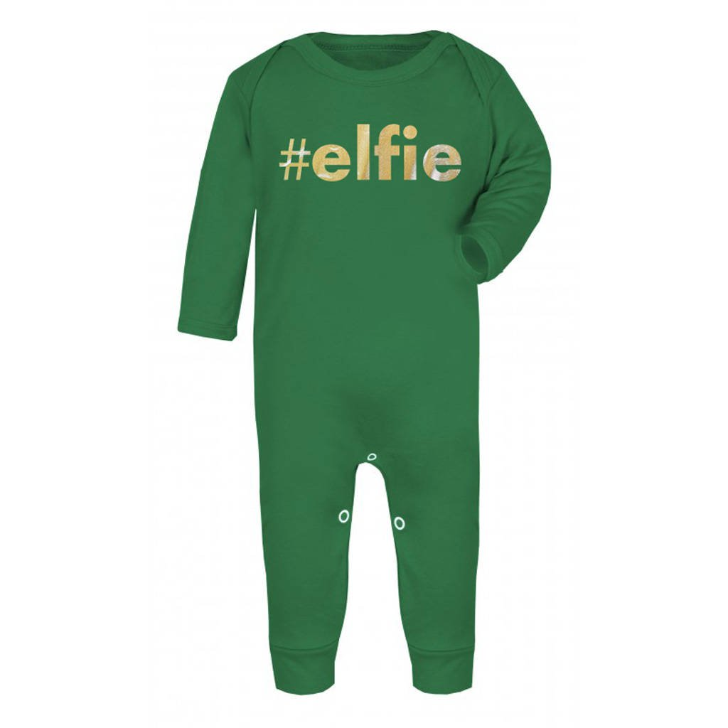 #Elfie Christmas Rompersuit - Instajunction