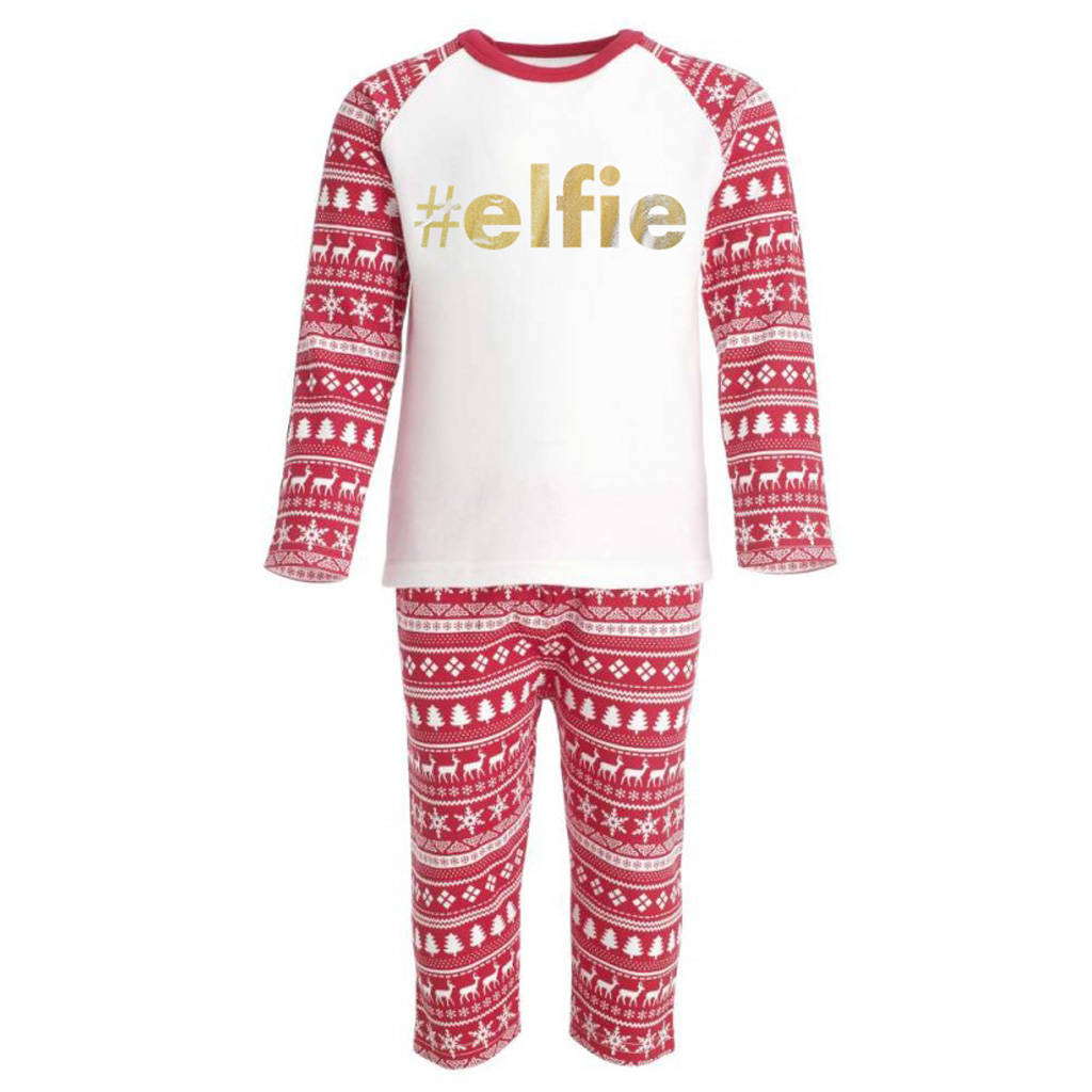 #Elfie Kids Pyjama Set - Instajunction